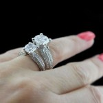 Compare the Susan Engagement Ring 1.50ct vs. 3.25ct