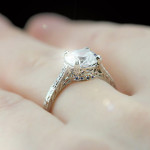 Ella Engagement Ring | Hidden Row | Something New Something Blue