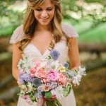 Eco Friendly Wedding | Flowers Bouquet and Crown | photo credit Pinterest