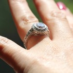Eco Friendly Wedding | Renee Engagement Ring | MiaDonna