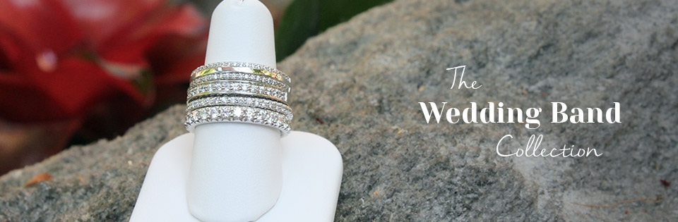 Eco-Friendly Diamond Wedding Bands by MiaDonna