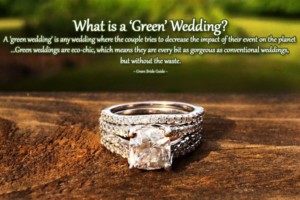 What is a Green Wedding | MiaDonna