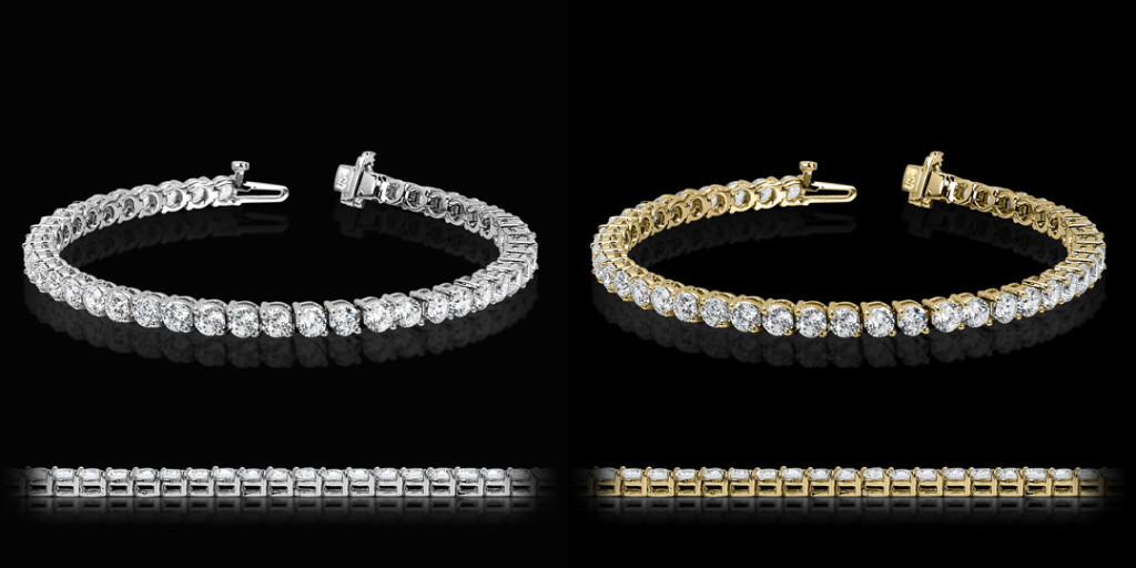 2 Prong Tennis Bracelet | MiaDonna