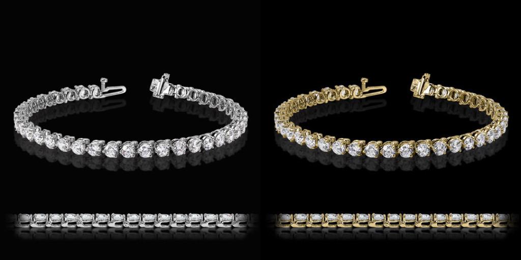3 Prong Tennis Bracelet | MiaDonna