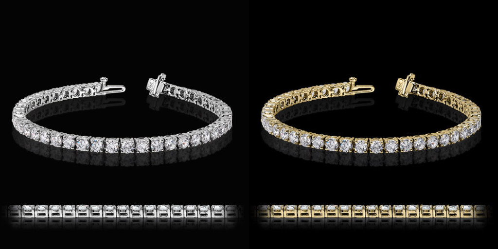 4 Prong Tennis Bracelet | MiaDonna