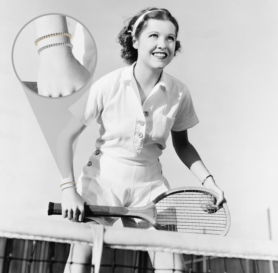 MiaDonna Tennis Bracelet