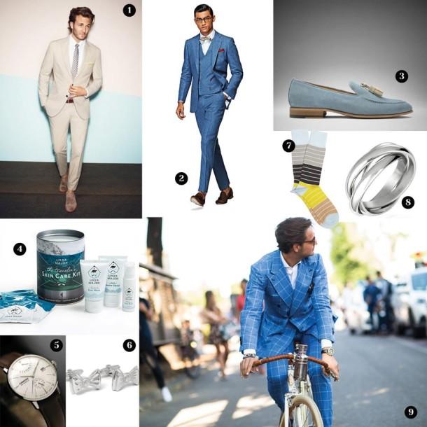 Blue Wedding Style Inspiration