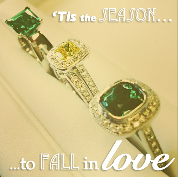 MiaDonna Engagement Rings and Wedding Sets | Lab Created Gemstones | Tis the Season to Fall in Love