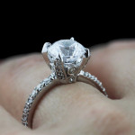 Queen Engagement Ring | Antique Engagement Ring | Vintage Engagement Ring