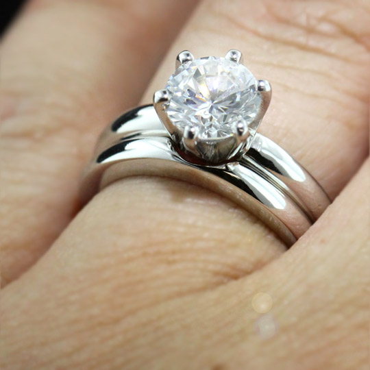 to most engagement solitaire gallery victorian bands and bandblog matching the wedding ring band match expensive