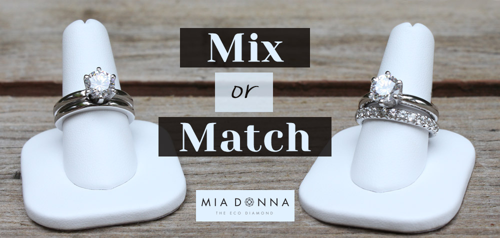 Mix or Match | Engagement Ring and Wedding Band