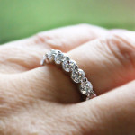 MiaDonna New Arrivals | Diamond Hybrid Eternity Band