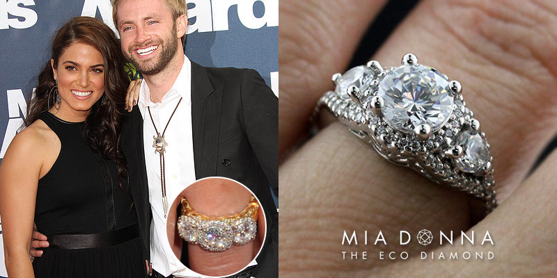 Nikki Reed | Unique Celebrity Three Stone Engagement Rings