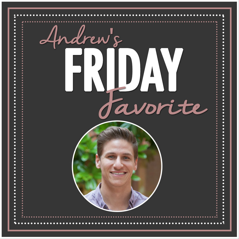 MiaDonna FRIDAY FAVORITE | Andrew's Pick