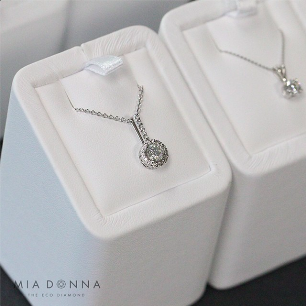 MiaDonna's Portland OR Showroom | Diamond Pendant | Bridal Accessory, Anniversary Gift