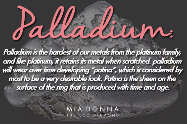 Palladium vs. Platinum | Affordable Luxury at MiaDonna | What is Palladium | MiaDonna