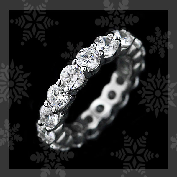 MiaDonna's TOP 5 Holiday Gift Ideas | Holiday Gift Guide | Diamond Hybrid Eternity Band
