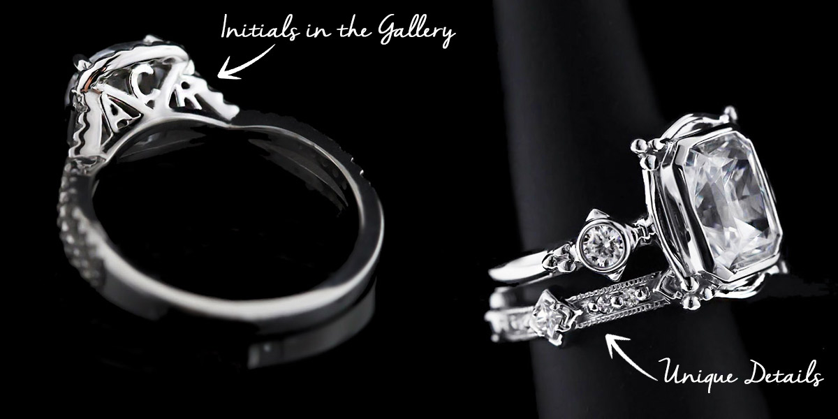 custom design your wedding ring rings