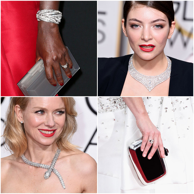 Golden Globes Top Fashion Trendss | Golden Globes Jewelry | Diamonds