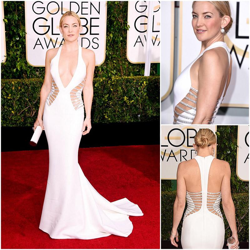 Golden Globes Top Fashion Trends | Metallics | Kate Hudson