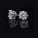 Valentine's Day Gift Ideas | 4 Prong Basket Earrings | Starting at $465