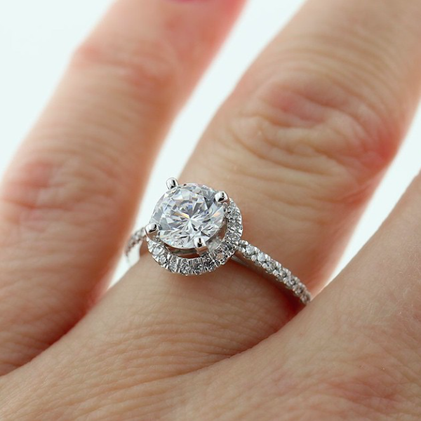 Valentine's Day Gift Ideas | Lovely Engagement Ring | Starting at $1899