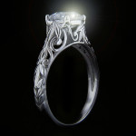 Valentine's Day Gift Ideas | Tory Antique Engagement Ring | Starting at $884