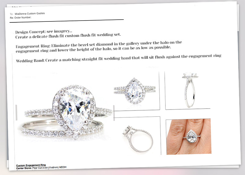 Custom Engagement Ring Design | Get a quote