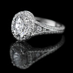 MiaDonna CEO's Top 5 Engagement Ring Trends for 2015 | Empress Engagement Ring | Diamond Halo Engagement Ring