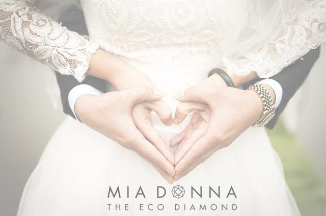 Modern Anniversary Gifts | Lab Created Diamond Engagement Rings | MiaDonna