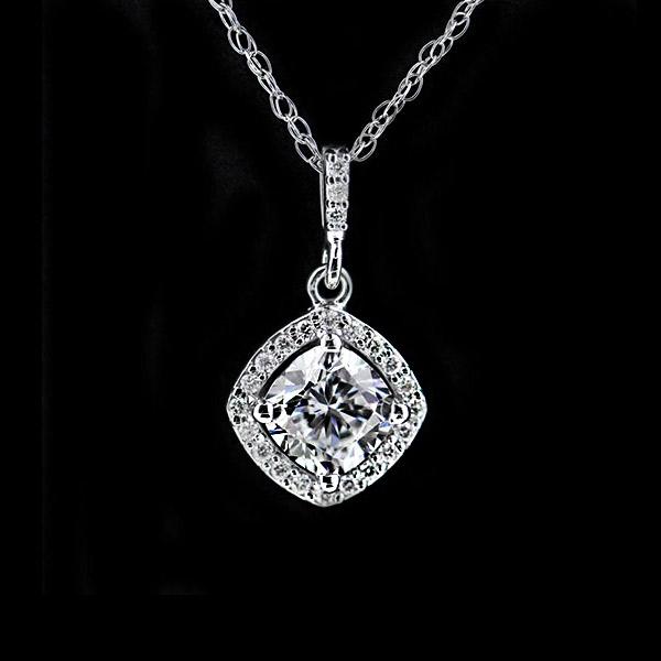 Modern Anniversary Gifts | Diamond Pendant | MiaDonna