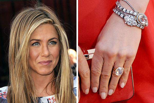 Celebrity Engagement Rings | Jennifer Aniston