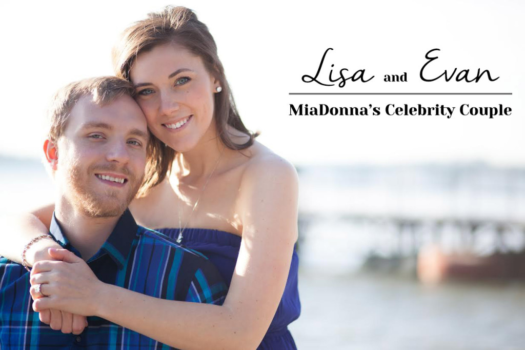 Meet Lisa and Evan | MiaDonna's Celebrity Couple | Drew Engagement Ring