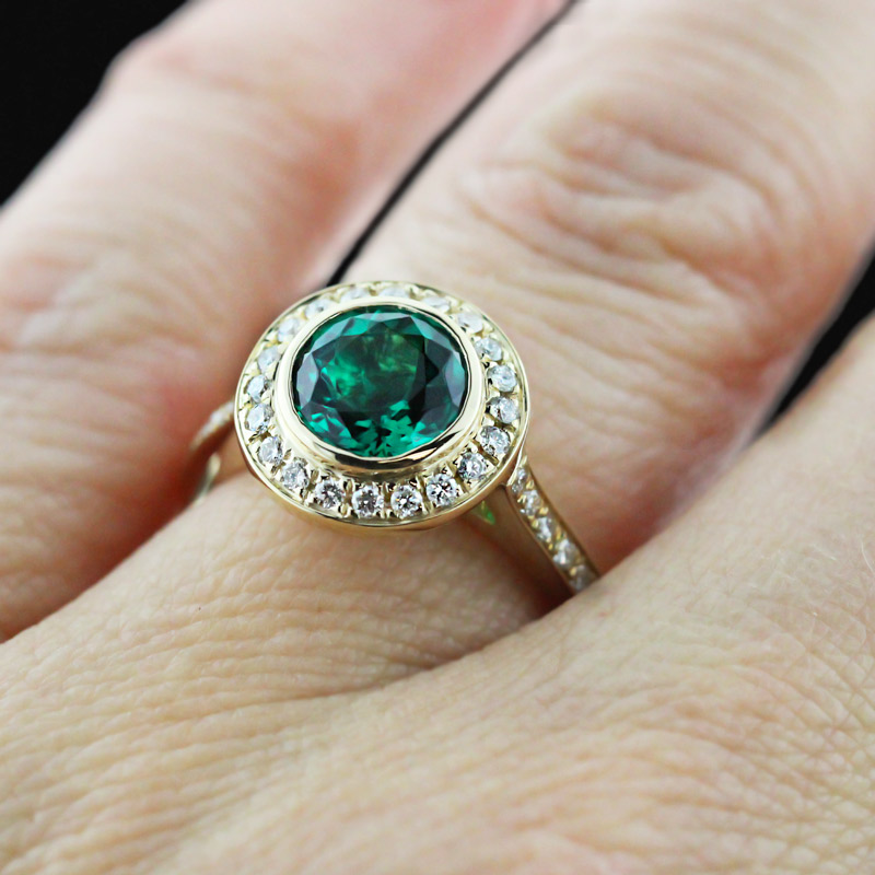Look Gorgeous in Green Lab-Created Emeralds | Heirloom Engagement Ring