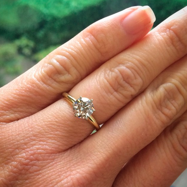 Lab-Created Diamond Engagement Rings   Why YOU should own more than one!   Tiffany Engagement Ring   MiaDonna