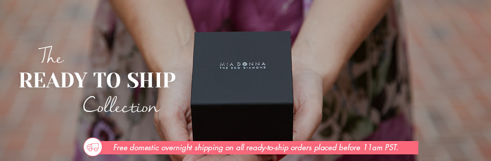Man-Made Diamonds for Mother's Day | MiaDonna | Ready to Ship