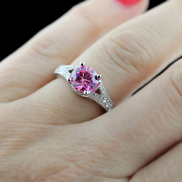 Top 5 May | Antique Style Engagement Rings | Bella Antique Engagement Ring