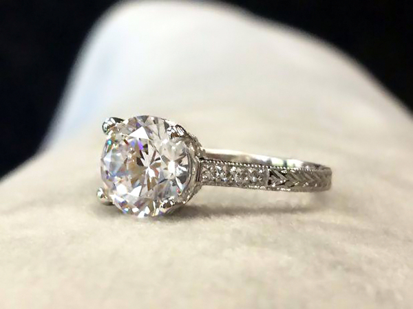 Top 5 May | Antique Style Engagement Rings | Ella Antique Engagement Ring