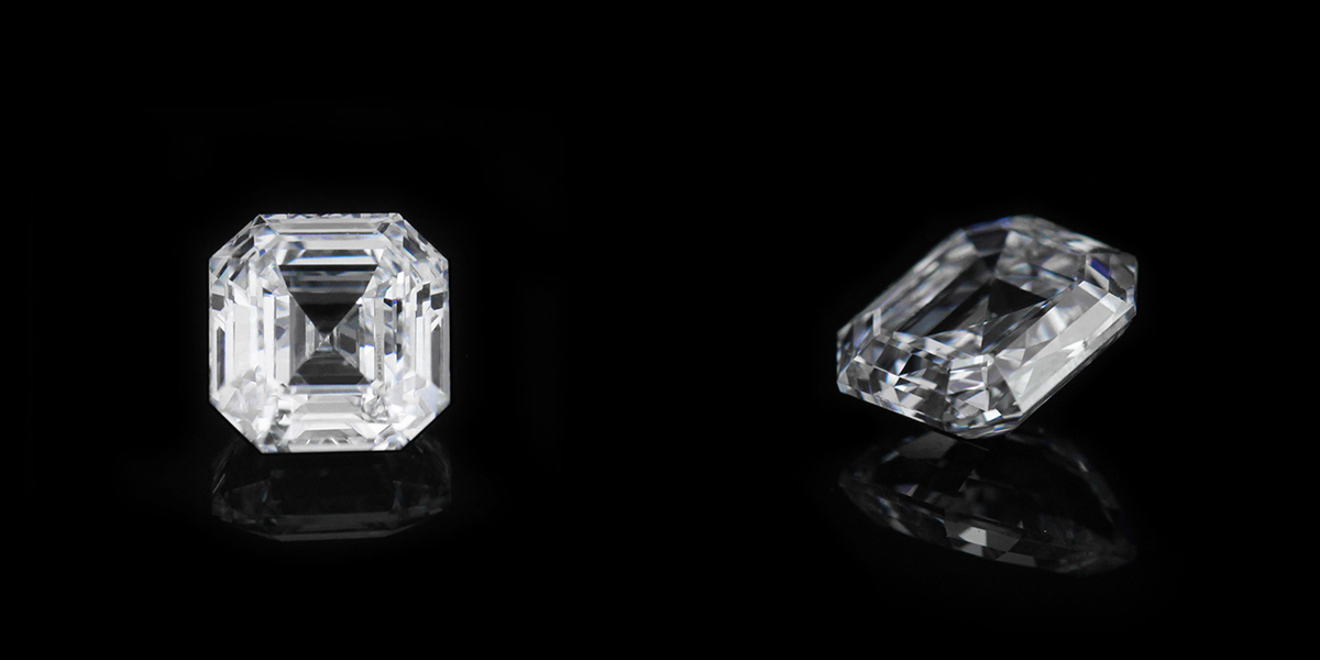 0.79ct Emerald cut D color VS1 clarity | MiaDonna | Lab Created Diamonds | Unmatched beauty. Unrivaled quality. Unbeatable value