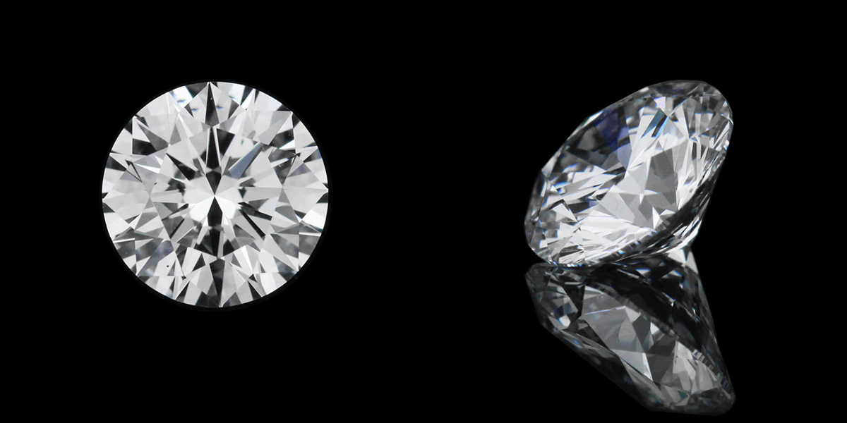 1.56ct Round cut D color VS1 clarity | MiaDonna | Lab Created Diamonds | Unmatched beauty. Unrivaled quality. Unbeatable value