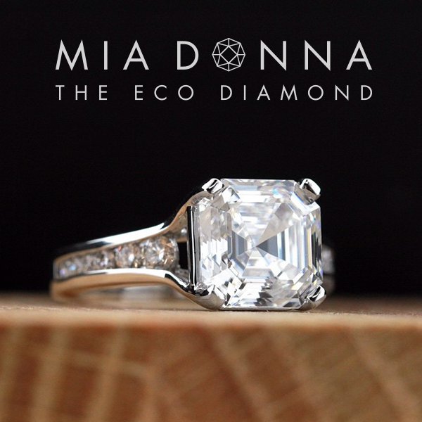 The World Famous Diamond Hybrid |Dashing Engagement Ring | MiaDonna