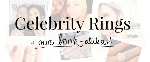 Celebrity Engagement Rings - Get the MiaDonna Look-Alikes