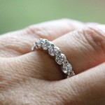 What's Your Style? | Minimalist | Diamond Hybrid Eternity Band | MiaDonna