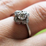 What's Your Style? | Vintage | Grace Engagement Ring | MiaDonna