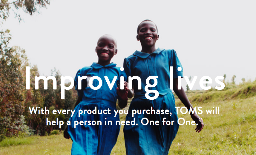 4 Charitable Companies we LOVE! | TOMS