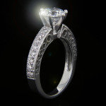The True Beauty of Infinity Engagement Rings | Ali Engagement Ring