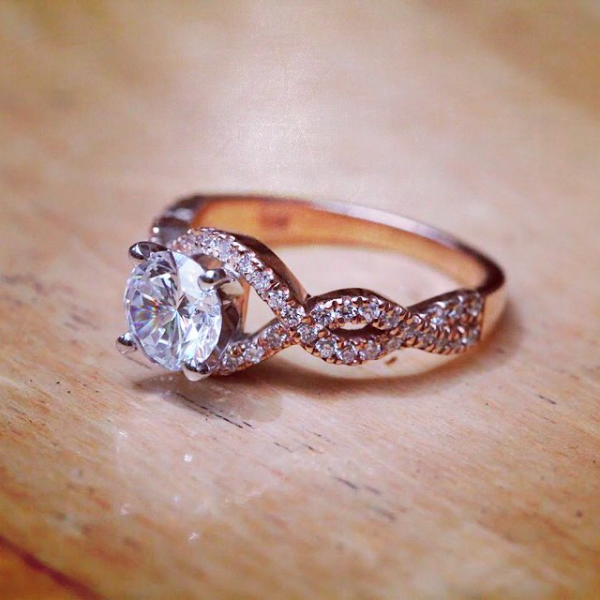 The True Beauty of Infinity Engagement Rings | Infinity Engagement Ring