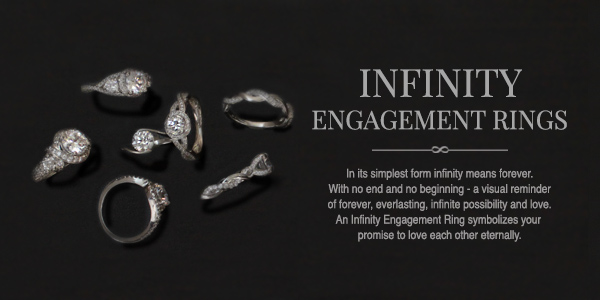 The True Beauty of Infinity Engagement Rings | MiaDonna