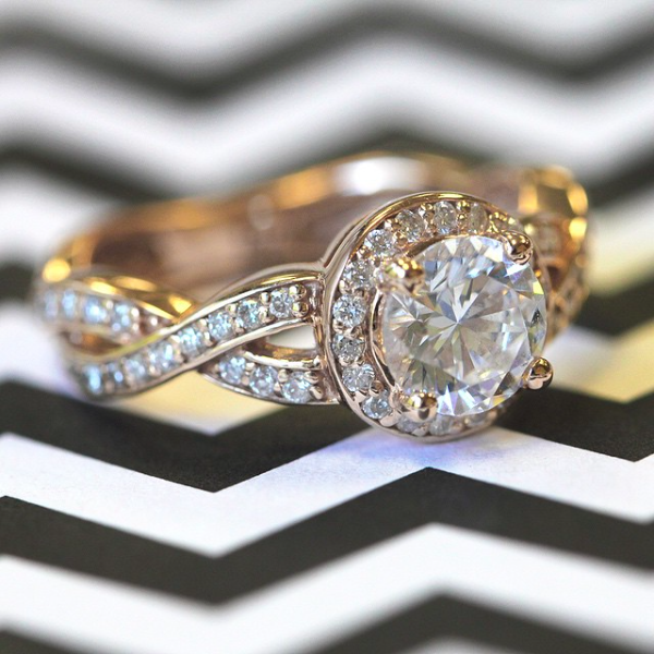 The True Beauty of Infinity Engagement Rings | Petals Engagement Ring