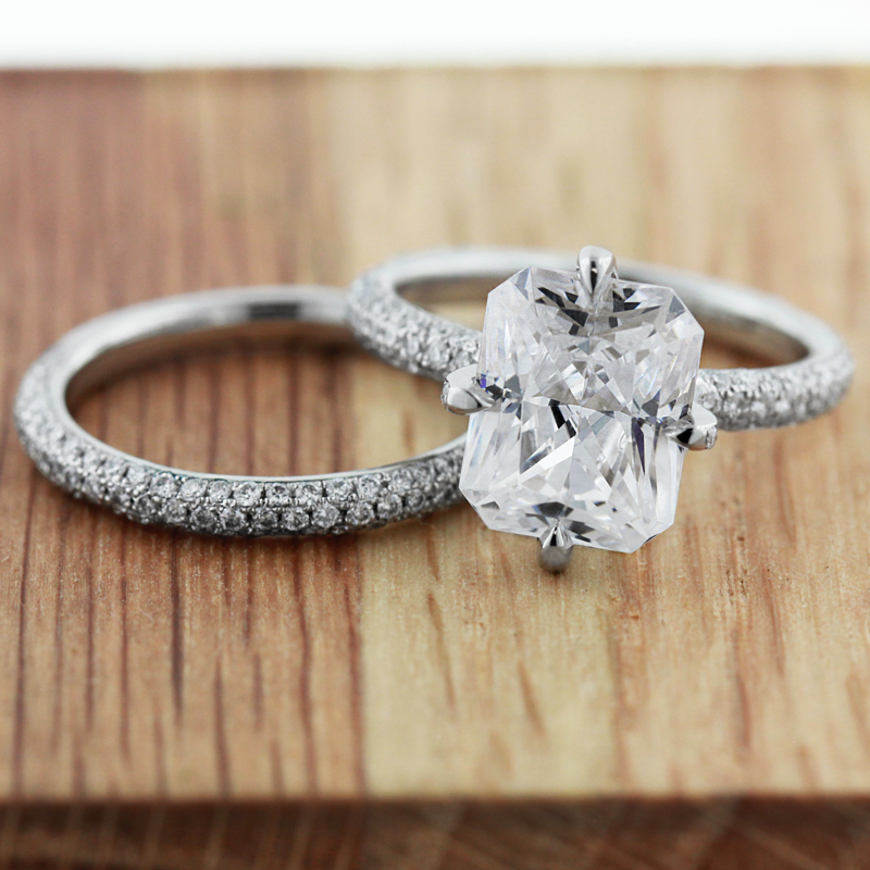 Do's and Don'ts to Custom Engagement Ring Design | Custom Wedding Set | MiaDonna